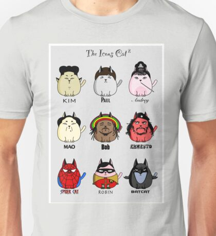 The Icons Cat vol.2 Unisex T-Shirt