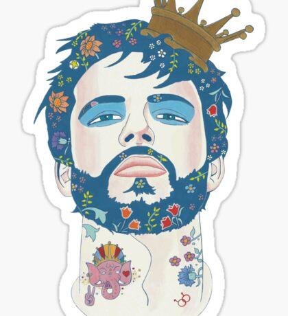 All Men Are Kings Sticker
