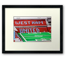 West Ham Framed Print