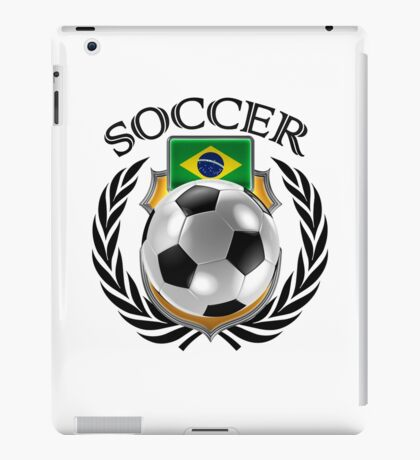 Brazil Soccer 2016 Fan Gear iPad Case/Skin