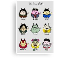 The Icons Cat vol.3 Canvas Print