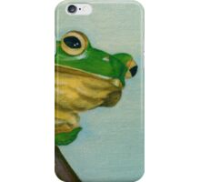 a peaceful frog iPhone Case/Skin