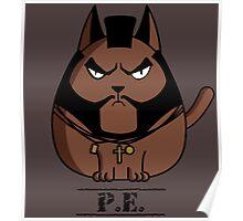 P.E. The Cat Poster