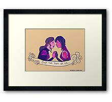 Femslash February - Korrasami Framed Print