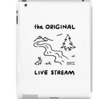 """The Original Live Stream"" iPad Case/Skin"