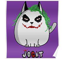 Joker the Cat Poster