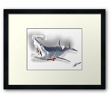 Mortal Mako Framed Print