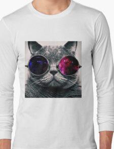 Spacing cat Long Sleeve T-Shirt