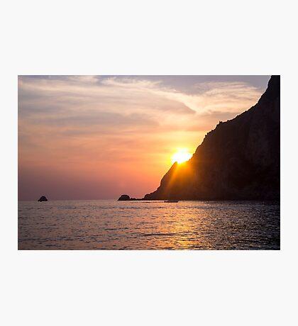 Idyllic Sundown - Nature Photography Photographic Print