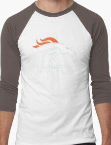 Denver Broncos I Married into this Men's Baseball ¾ T-Shirt
