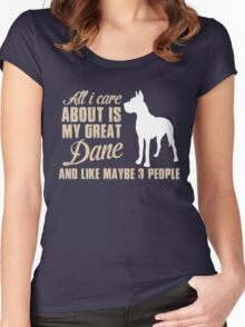 Dog quotes Women's Fitted Scoop T-Shirt