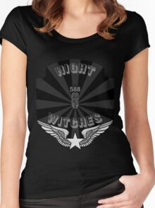Night Witches Women's Fitted Scoop T-Shirt