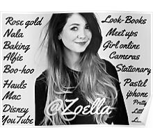 All things Zoella - LARGE  Poster