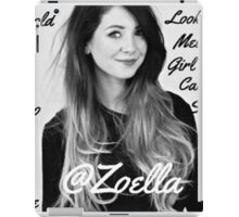 All things Zoella - LARGE  iPad Case/Skin
