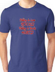 falling in love & rocks Unisex T-Shirt