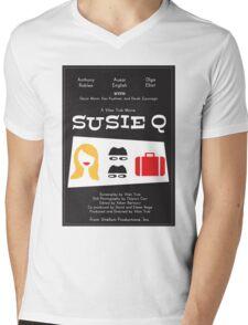 Susie Q (2016) - movie poster by Treffly Coyne Mens V-Neck T-Shirt