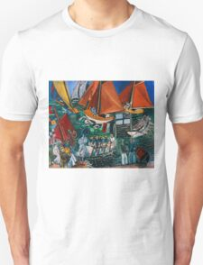 Dufy Raoul - Fte Nautique The Regatta 1920-1922 , Seascape  Unisex T-Shirt