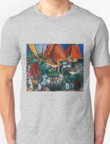 Dufy Raoul - Fte Nautique The Regatta 1920-1922 , Seascape  Unisex T-Shirt