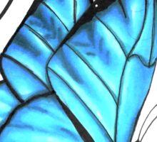 (Blue) Butterfly Effect Sticker