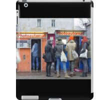 Old photo booth in Berlin, Germany (Fotoautomat) iPad Case/Skin