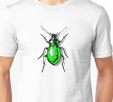 Green Beetle Unisex T-Shirt