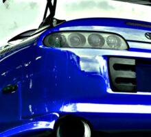 TOYOTA SUPRA Street car racer  Sticker