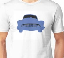 Old Buick Graphic Blue Unisex T-Shirt
