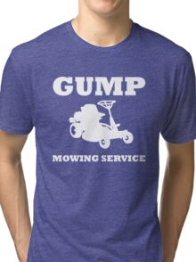 Gump Mowing Service Tri-blend T-Shirt