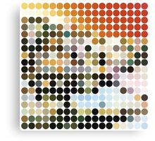 LED ZEPPELIN, BENDAY DOTS, HOUSES OF THE HOLY Canvas Print