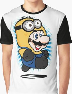 Minion Mario Graphic T-Shirt