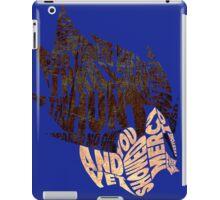 Dragon Ball Z - Vegeta - Typography iPad Case/Skin