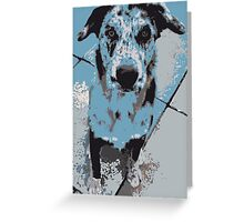Catahoula Catawhat Leopard Dog Greeting Card