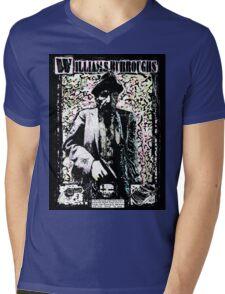 William Burroughs. Mens V-Neck T-Shirt