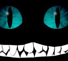 Cheshire Cat grin Sticker