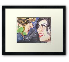 Zelena and Regina Mills Framed Print