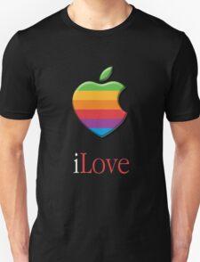 iLove 3D (for dark shirts) Unisex T-Shirt