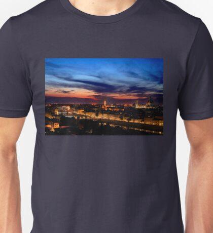 Renaissance skies - Florence Unisex T-Shirt