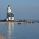 Lighthouse - Marken by Robert Abraham