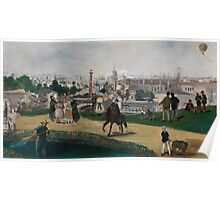 Edouard Manet - Fra Verdensutstillingen i Paris , French Impressionism , Landscape Poster