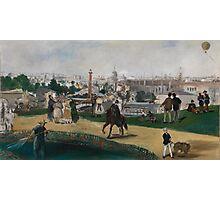 Edouard Manet - Fra Verdensutstillingen i Paris , French Impressionism , Landscape Photographic Print