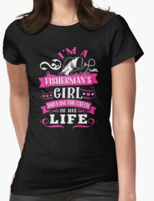 FISHING  AWESOME Womens Fitted T-Shirt
