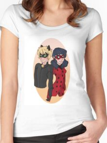 LadyNoir Women's Fitted Scoop T-Shirt