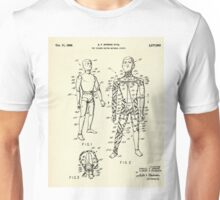 Toy Figure Having Movable Joints-1966 Unisex T-Shirt