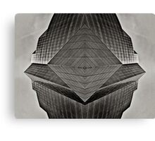 Symmetric Utopia Canvas Print