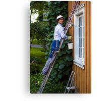 Working Man - Advertising Photography Canvas Print