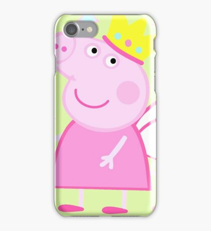 Peppa Fairy Pig iPhone Case/Skin