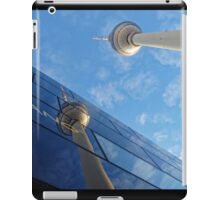 Berlin TV Tower reflected, Alex iPad Case/Skin