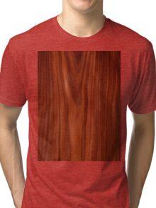 Beautiful red wood design Tri-blend T-Shirt