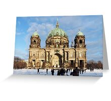 Berlin Cathedral, Berliner Dom Greeting Card