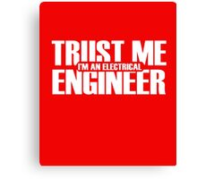 Electrical Engineer Canvas Print
